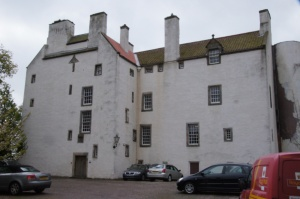 Rossend Castle, shades of former glory.  Here in February 1563 Mary, Queen of Scots found Chastelard hiding under her bed.